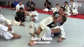 Garry Tonon • Rear Naked Choke Instructional at Dante Rivera Brazilian Jiu-Jitsu • Nogi Bear™