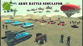 Army Battle Simulator - Android Gameplay HD screenshot 1