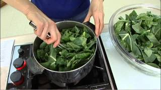 Ginger Greens And Rice