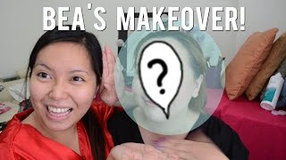 FACE SWAP - My Makeup Look on Bea! - saytiocoartillero