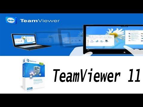 แนะนำวิธีดาวน์โหลดและติดตั้ง TeamViewer 11 ถาวร