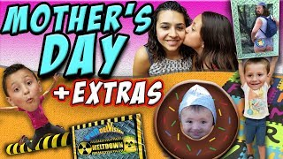 WORST MOTHERS DAY Family Festival Fails & Falls & Shawns Sunny Funny Face FUNnel Fam Vlog