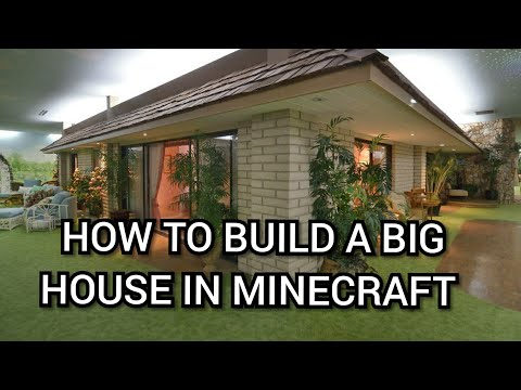 Minecraft Tutorial - How to build a house