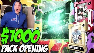 $1000 Pack Opening - ALL BLITZ OFFERS (Redux, Centennial, LTD, And More) - Madden 20 Ultimate Team