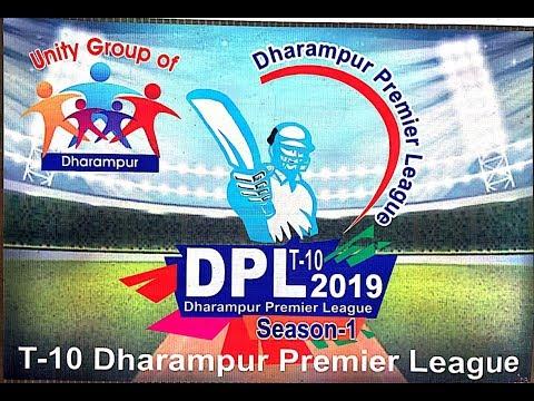 DPL T-10 Dharampur Premier League 2019 Season - 1| Day 2 |  Dharampur |