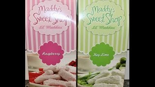 Maddy's Sweet Shop Lil' Maddies: Raspberry & Key Lime Shortbread Cookies Review