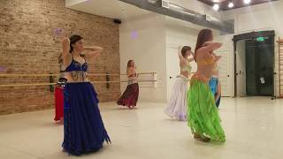 Belly Dance to Allegro Ventigo
