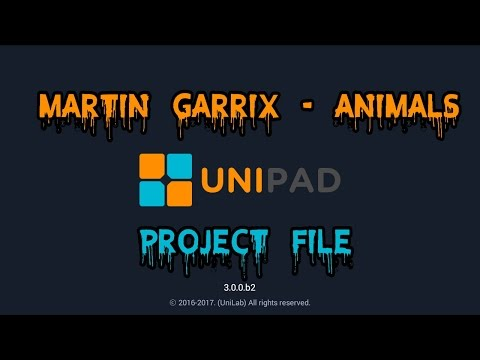 Martin Garrix - Animals [PROJECT FILE] [UNIPAD]