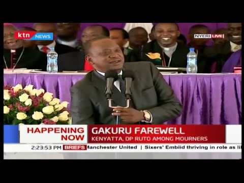 President Uhuru Kenyatta reaffirms that he intends to implement the free secondary school promise