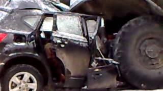 видео В Белогорском районе в ДТП погибла целая семья