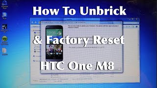 How To Unbrick Factory Reset, Update HTC One M8 Android 4.4.4
