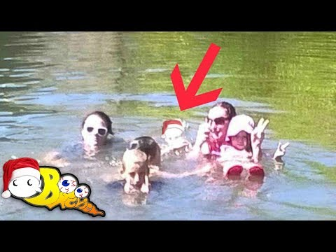 Ghost Girl Caught On Camera In River In Australia | 12 Days of Paranormal Christmas #10