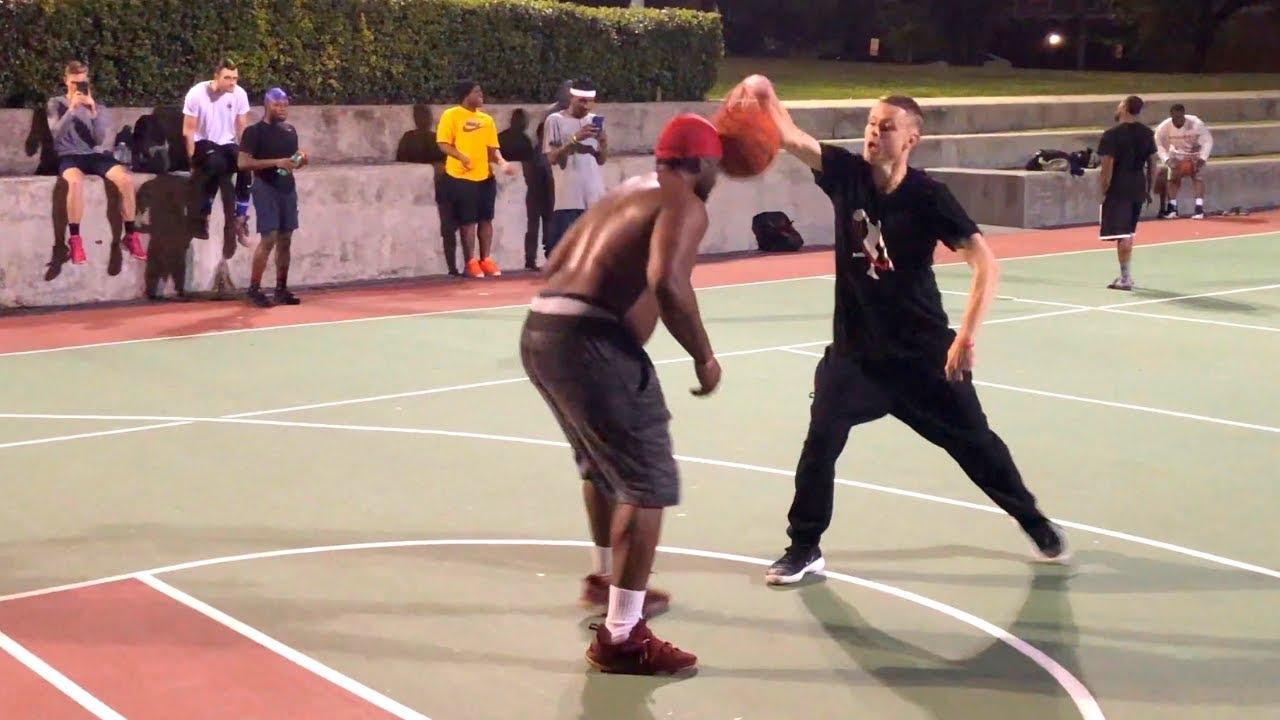 Download Professor vs Smack Talker 1v1 Houston Hood Court.. GETS CALLED OUT, forced duel