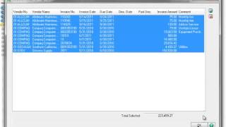 Processing Electronic Payments and ACH File Generation