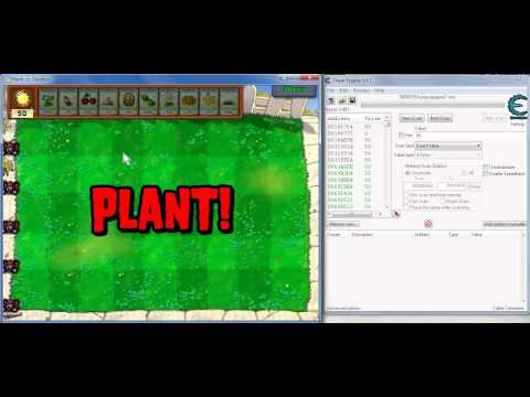 How to Hack Plants vs Zombies using Cheat Engine (Infinite Sun)
