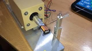 DIY coil winder for EFD cores