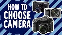 Kuinka valita sopiva kamera? Gigantti kertoo