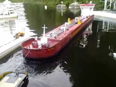 Towing the Lion King Great Lakes Tanker 2
