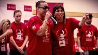 Daddy Yankee es Deportistas por un Sueño / Encuentro / 05-07-2013