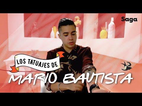 ¿Qué significan los tatuajes de Mario Bautista?