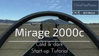 DCS   Mirage 2000C Cold and dark start-up tutorial