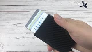 Carbon fiber card clip