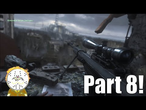 Call Of Duty Modern Warfare Remastered Part 8 All Ghilled Up, One Shot One Kill Hardened All Intels