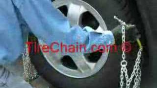 Diamond Tire Chains Installation