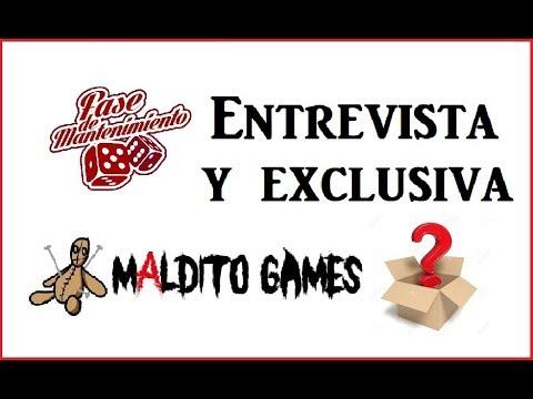 Entrevista a Álamo, de Maldito Games… CON EXCLUSIVA (Zona Lúdica 2019)
