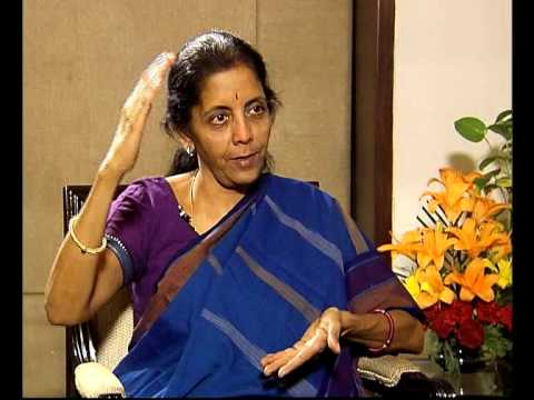 Interview with Commerce & Industry Minister Nirmala Sitaraman