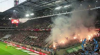 Köln - HSV 1:1 Pyro Gästeblock (15.04.2019)