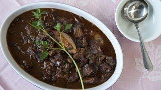Rezept: Boeuf Bourguignon (Französischer Rindfleisch Eintopf) selber machen