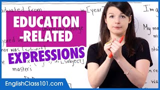 Education-Related Expressions