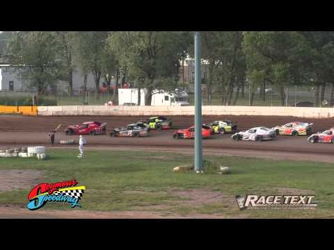 Seymour Speedway - July 6, 2014 - IMCA Sport Modified feature