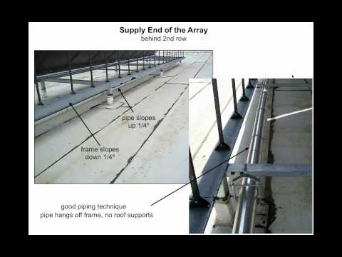 Solar Water Heating 101.2 - Arrays & Piping