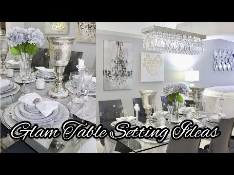GLAM TABLESCAPE DECOR TABLE SETTING IDEAS COLLAB WITH HOME BODY WITH FORLISA