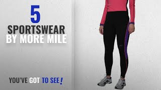 Top 10 More Mile Sportswear [2018]: More Mile Womens Calgary Thermal High Viz Running Tights