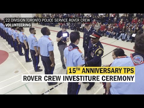 15th Anniversary Humber College Rovers Investiture Ceremony