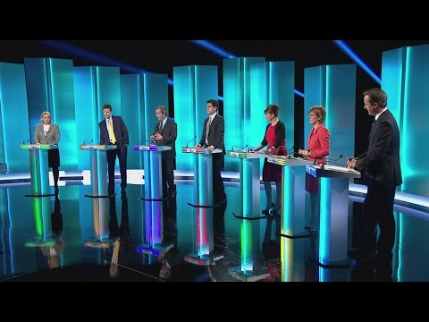 Leaders' debate: 'Farage should be ashamed' on HIV - Leanne Wood