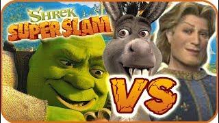 Shrek Super Slam Game Part 2 (Gamecube, PC, PS2, XBOX) Donkey VS Prince Charming