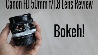 canon fd 50mm f 1 8 s c lens review