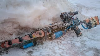 TICHAR RAILGUN FROM METRO EXODUS HOW TO MAKE DIY