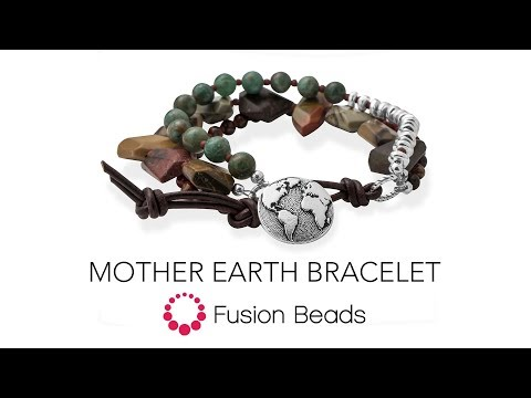 Watch how to create the Mother Earth Bracelet by Fusion Beads