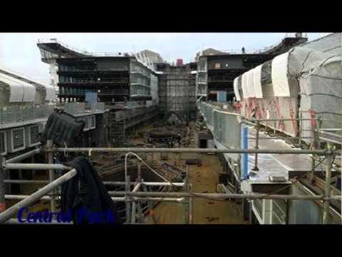 Diapo : Construction Harmony of the Seas septembre -Juin