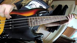 Tread lightly Mastodon [Bass Cover] HD
