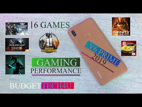 Huawei Y6 Prime 2019 Gaming Performance | Budget Tech4u