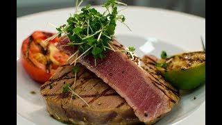 KIWI DIWI Recepte: Tunča Steiks