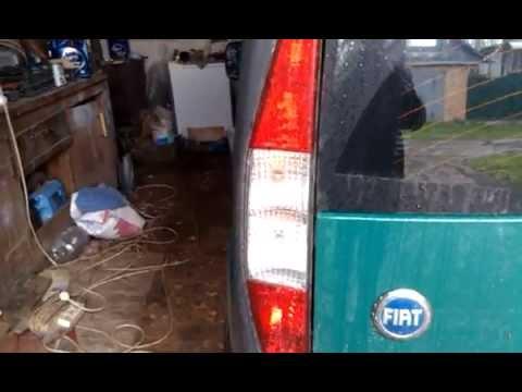 Как снять задний СТОП Фонарь Fiat Doblo