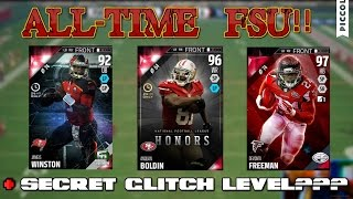 madden 16 gauntlet secret glitch boss level all time fsu team gameplay
