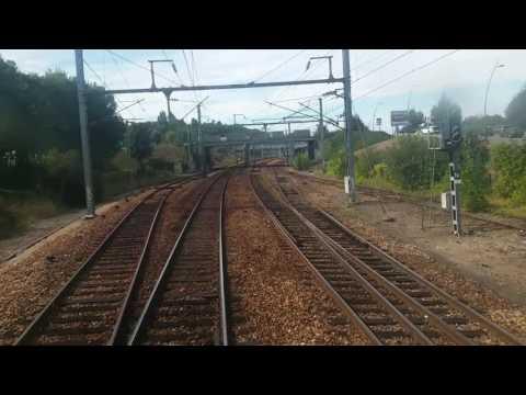 Arrivée en gare d'Evreux-Normandie